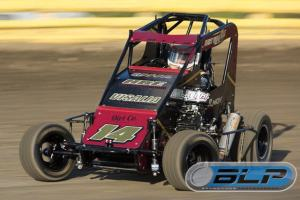 Smith non wing car on track lemoore left side