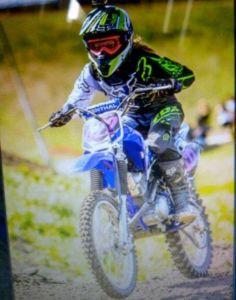 Tommie p dirt bike